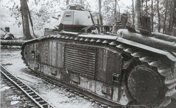 Bataille de Stonne mai 1940 1/35 Charb1c