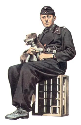 Hommes Costume Soldat allemand ww2 général Costume uniforme militaire